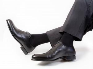 Chaussettes noires qui font du bien